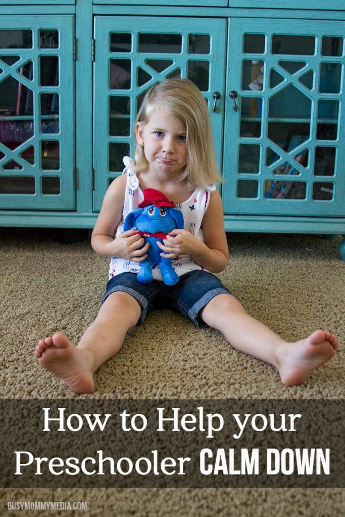 How to Help your Preschooler Calm Down