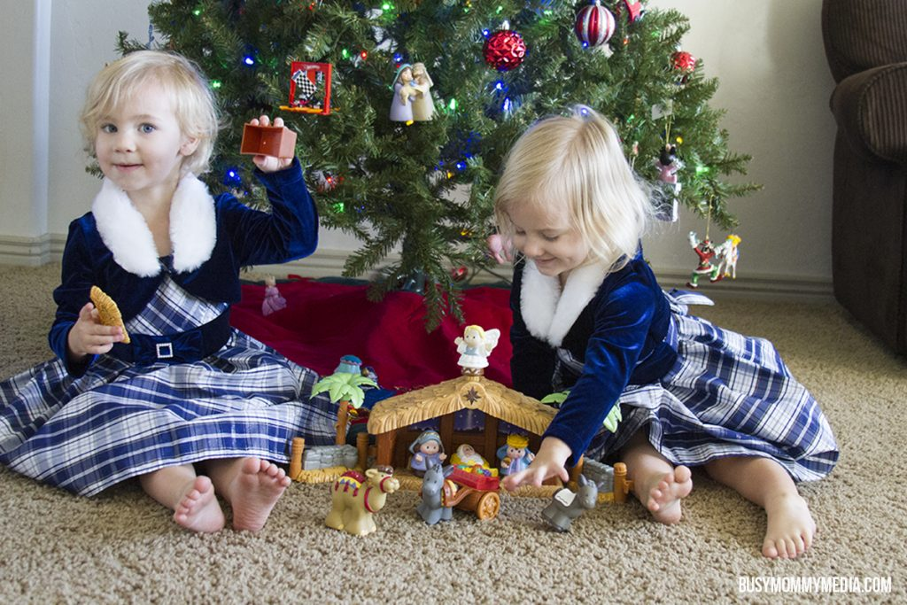 toddler nativity set