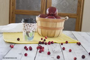 Homemade Cranberry Apple Cider