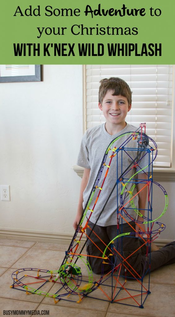 Add Some Adventure to your Christmas with K'Nex Wild Whiplash