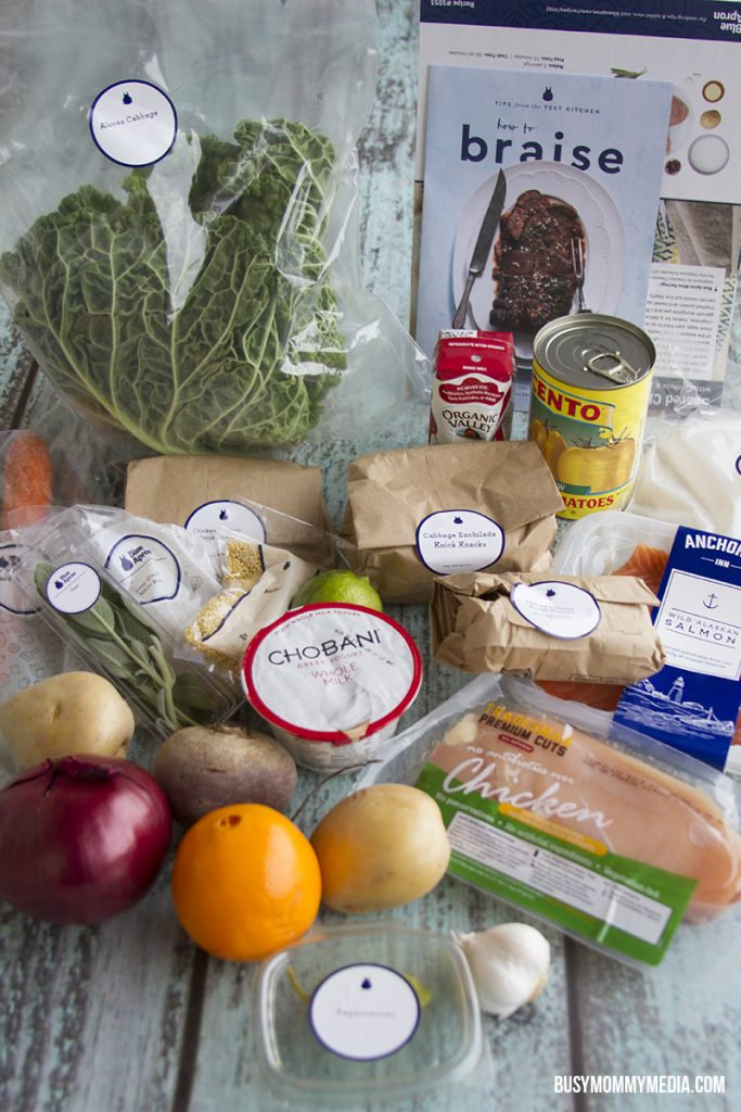 Simplify dinner with Blue Apron