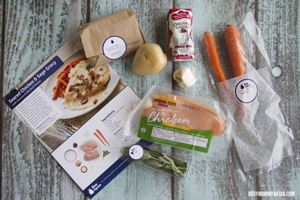 Blue Apron Recipe