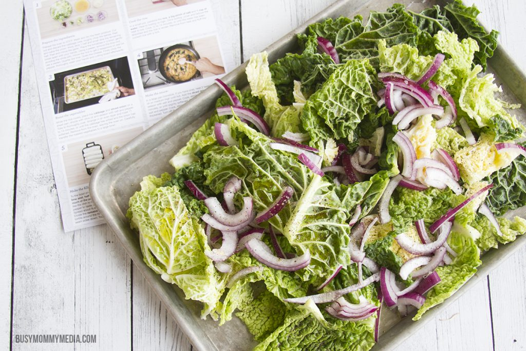 Roasted Cabbage for Blue Apron recipe