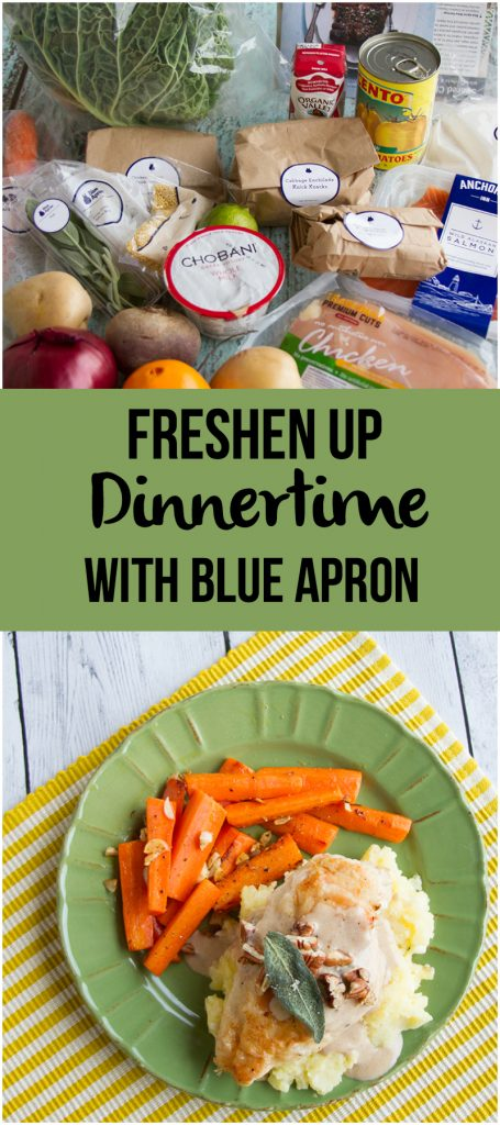 Freshen up Dinnertime with Blue Apron