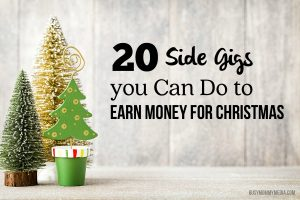 20 Side Gigs you Can Do to Earn Money for Christmas