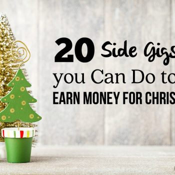 Are you looking for a way to earn some extra cash during the holiday season? Holiday expenses can definitely add up fast. Between holiday gifts, holiday meals, parties, and other events, having some extra income could drastically reduce your stress level. You probably don't want to commit to a extra job long-term though. Fortunately, you still have a lot of options to earn extra money for Christmas without saying goodbye to all of your spare time. We've come up with some of our favorite ways to earn extra money during the holidays. Check out our list below. Drive for Uber. You can get set up as an Uber driver fairy quickly and you aren't locked into set hours so you only drive when you want to. They pay weekly so it can be a great way to earn some extra cash fast. I tried it out to see what it would be like as a woman driving for Uber and it was kind of fun. Check out my experience driving for Uber here. Rent out your Spare Room. Do you have a spare room in your house that isn't being used? Consider renting out space in your house to earn some extra holiday cash. Sites like HomeStay.com and Airbnb will help you find people to rent your space. Deliver holiday packages. Delivery drivers stay very busy during the holiday season and many companies are looking for holiday help. If you want something consistent (possibly with the opportunity to stay on after the holidays) look at some of the larger companies like UPS. If you want a bit more flexibility, see if Amazon Flex is in your area. You can set your own schedule delivering packages in your local area. Planning a holiday trip? Consider a service like Roadie.com that lets you hook up with people who need items delivered to your destination. Offer babysitting services. As a mom, you know how hard it can be to run errands with kids. Offer babysitting services to families in your community who need a chance to shop without kids, attend a holiday party, or catch up on their holiday to-do list. Sell homemade gifts on Etsy. Are you crafty? Consider making homemade gifts to sell on Etsy or at a local craft fair. Join Swagbucks. Have you used Swagbucks? Swagbucks is a service that will let you earn points that are redeemable for gift cards. You can earn points by using their search engine, printing coupons, watching videos, taking surveys and more. One year I nearly paid for all of our holiday gifts using Amazon cards I earned through Swagbucks. Sign up for Swagbucks HERE. Sell things from around your house. Most of us could fund Christmas just by selling things we no longer use. Sort through your stuff and sell on Facebook sale groups, Craigslist, eBay, or even host a garage sale if the weather is warm where you live. I once made $700 in one weekend just decluttering my home. Use Cashback sites when you shop. If you are planning on doing any of your holiday shopping online, be sure and use cashback sites to earn extra money on things you are buying. My favorite is Ebates because they have so many options. FreeShipping.com is a paid option but they offer higher percentages back, which may be worth it if you are doing a lot of online shopping. Do sales through an MLM. MLMs get a bad rap but I know several moms who make a great income selling through them. The benefit to these is you can jump right in and get started. You don't have to worry about creating a product, building a website, or most of the other issues that you deal with when starting a company. There usually is a start up fee but if you find a product that you love, you can make some great sales commissions during the holiday season when people are looking for gift ideas. I'm personally a rep for Young Living (their products make GREAT gifts) and Thrive Life and have made a steady income from both for years. Become a petsitter. With so many families heading out of town for the holidays, many of them will need a reliable petsitter. This is a great short term gig that can be fun to do together as a family. You can find petsitting jobs on Care.com and Rover.com. Install Christmas lights. Are you brave enough to climb a few ladders (or send your husband up one)? You can make good money installing Christmas lights. Create a flyer and pass it around your neighborhood. You'll probably be turning down business before you know it. Be a Personal shopper. Shopping and holiday errands can be time consuming. Offer your services as a personal shopper and simplify life for other moms. Do seasonal online customer service. With call centers increasing their volume during the holiday season, many hire seasonal workers to help with online customer service. You can do these jobs from home (although you may still need child care so you can focus). A few that routinely hire seasonal customer service workers include 1-800 Flowers, Apple At Home, Amazon and Williams-Sonoma. Offer house cleaning service. With family coming in from out of town, holiday parties, and just general holiday craziness, I don't know a mom who couldn't use some help cleaning her home. Offer holiday house cleaning services and set your schedule to fit your holiday plans. Offer catering services. Are you a great cook? Consider offering catering services. Out of town guests, holiday parties, and other events mean there are plenty of opportunities for you to put your cooking skills to work. Sell Amazon FBA. Did you know you can buy products at a discount and ship them off for Amazon to do all the work? Amazon FBA (a.k.a. fulfilled by Amazon) will warehouse your product and ship them off when they are sold. They do take a fee but if you are good at deal hunting you can make some good money this way. Entrepreneur Girl is a great resource if you want to get started with this. Shop for holiday deals and ship them off to Amazon to sell for a profit. Be a website tester. There are quite a few companies that will pay you to test out websites. Pay is anywhere from $8-20 per test which usually takes around 10-20 minutes. This is a great list of places that will pay you to test websites. User Testing is another popular option. This gig is completely flexible so you can do it in your spare time during the holidays. Sell stock photos. Are you a photographer? You can sell stock images for some extra cash. iStockPhoto buys stock images but they are just one of many options out there. Most sites require you to submit some work samples before you are approved so be sure to have samples ready to go. Get a job as a seasonal retail worker. Many retail stores need extra employees during the holiday season. Retail hours go beyond regular 9-5 hours so you can request schedules that fit what you need (although you may have to be a bit flexible). As a bonus, you'll often receive a store discount so you may be able to save on holiday gifts. Take contract work. Do you have a skill that you could put go use for contract positions? There are some great short-term gigs out there that you can do to earn extra money for the holidays. Check out PeoplePerHour and Freelancer.com to find jobs. For smaller jobs, check out Fiverr (even small jobs can add up to a good amount of cash). What are you doing to earn extra money for Christmas expenses? Share them with us in the comments.