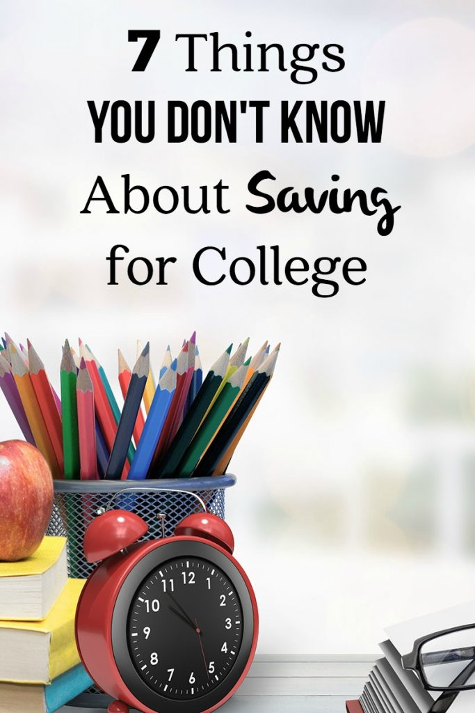7 Things you Don't Know About Saving for College