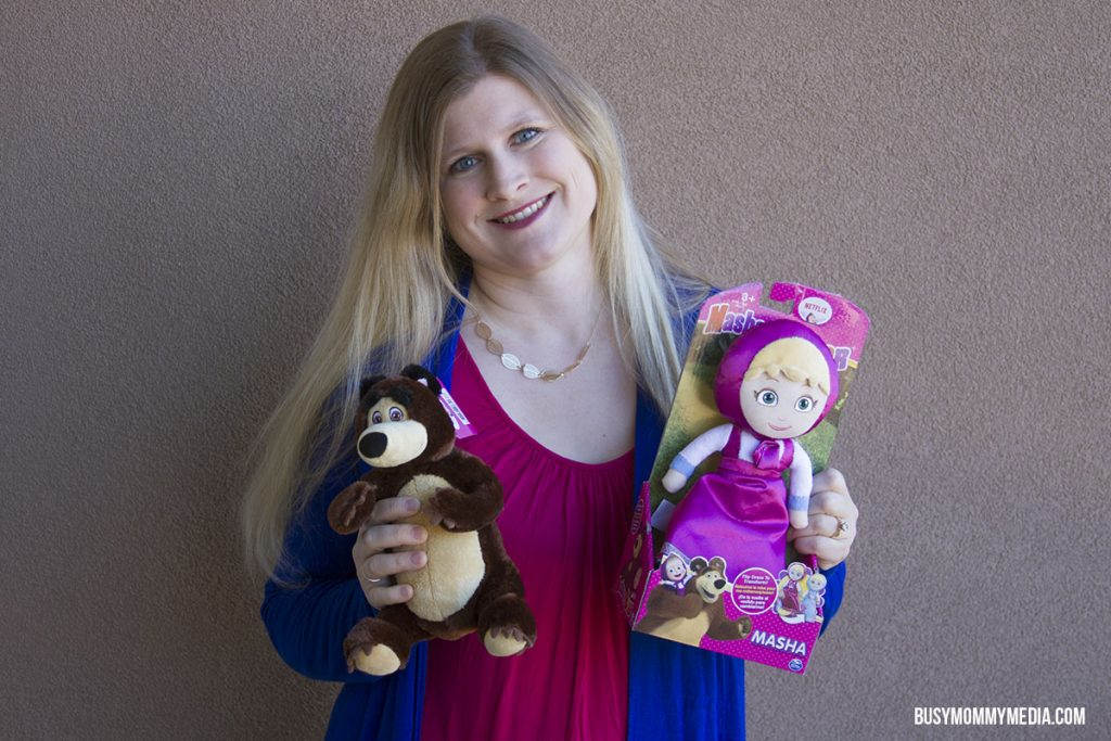 Masha and the Bear toys from Spinmaster