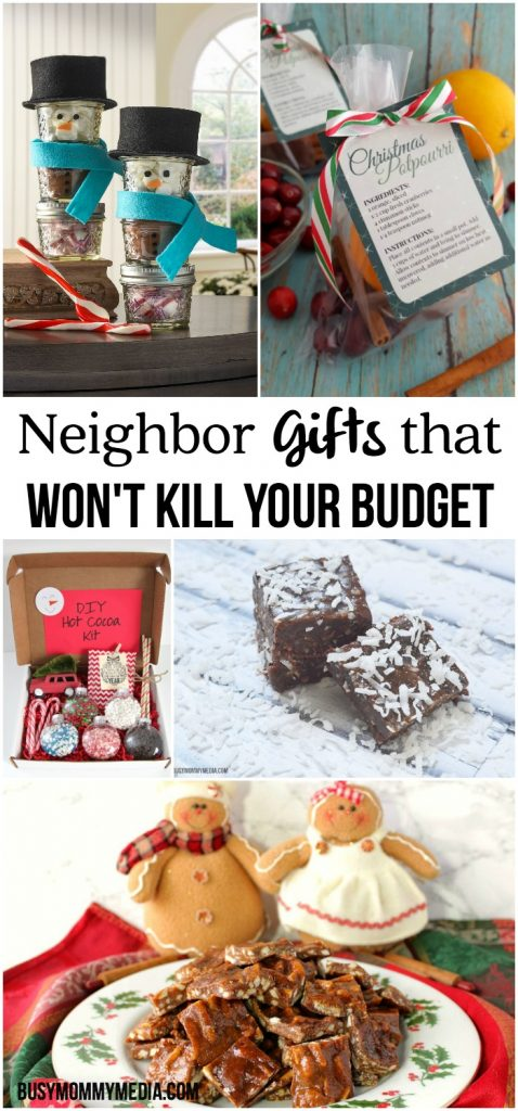 Neighbor Gifts that Won't Kill your Budget