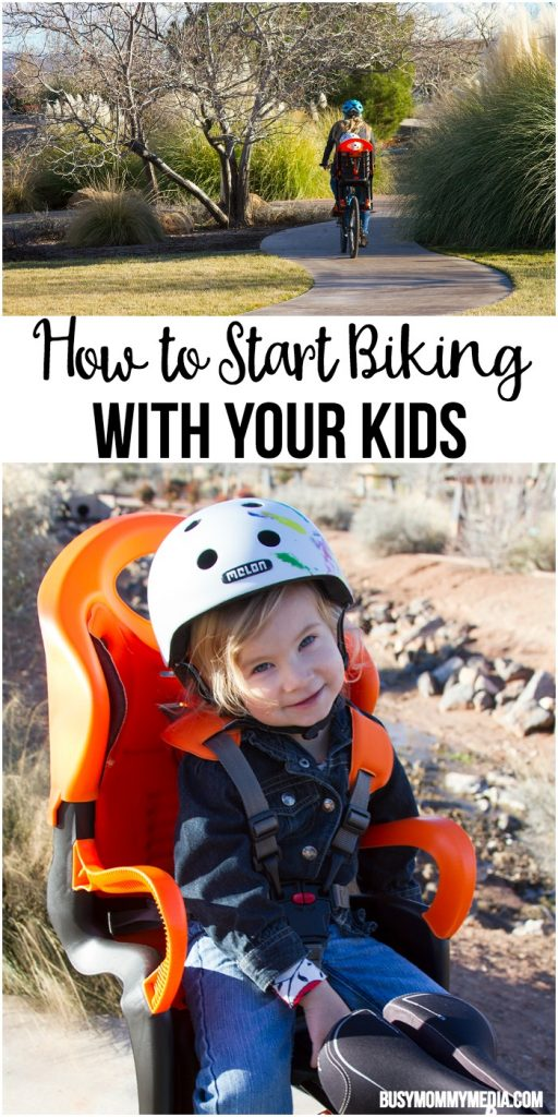 How to Start Biking with your Kids - Bike Seat Options to Stay Safe
