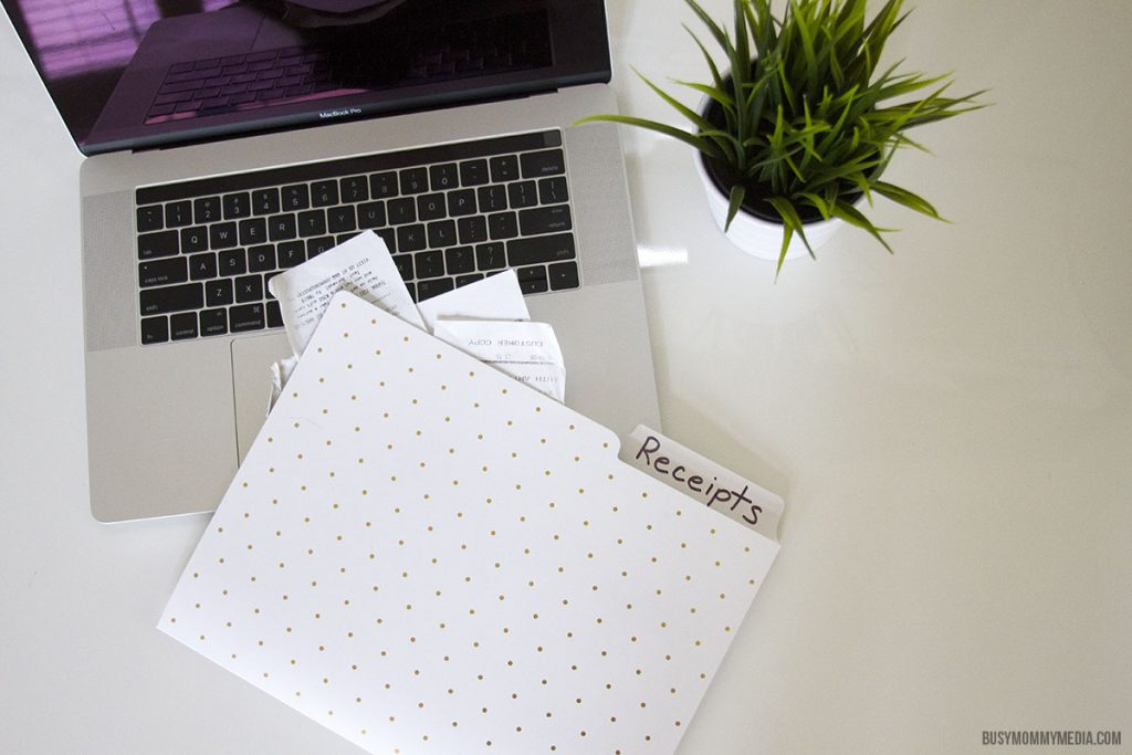 Filing taxes as a work at home mom