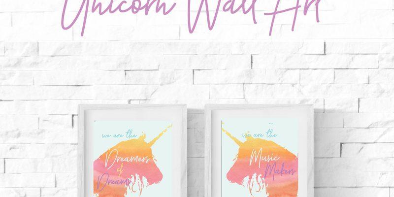Unicorn Wall Art