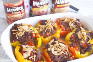 Sloppy Joe Stuffed Peppers for a Quick Weeknight Meal