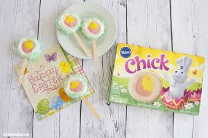 Easter Chick Cookie Pops Recipe (with VIDEO)