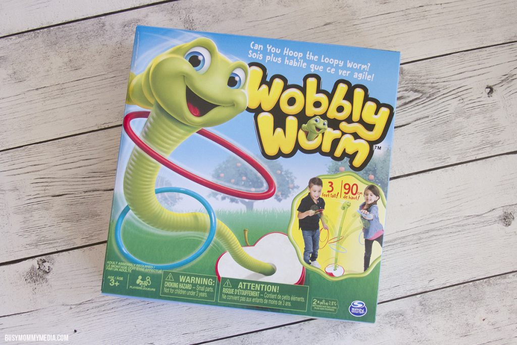 Wobbly Worm Game