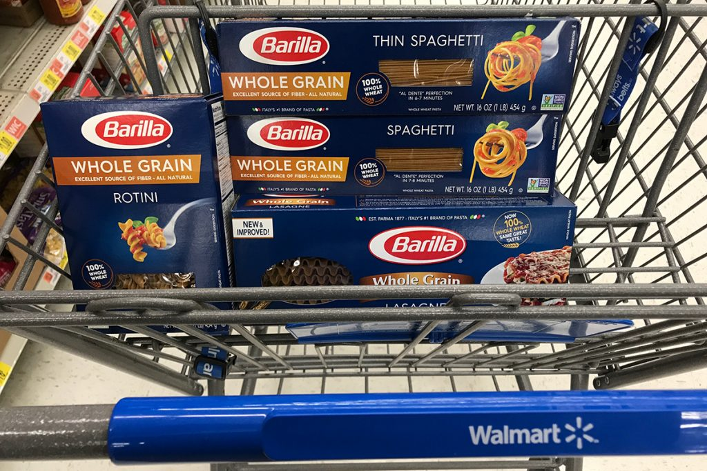 Barilla at Walmart