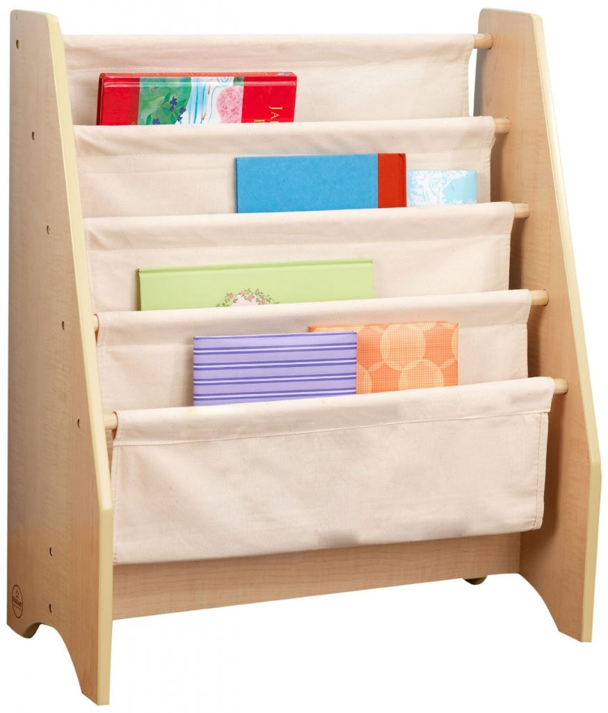 KidKraft sling bookshelf for toddlers