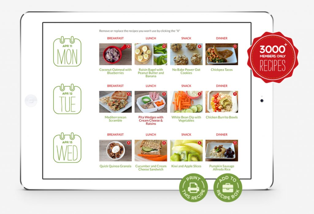 Super Healthy Kids Meal Plan Membership