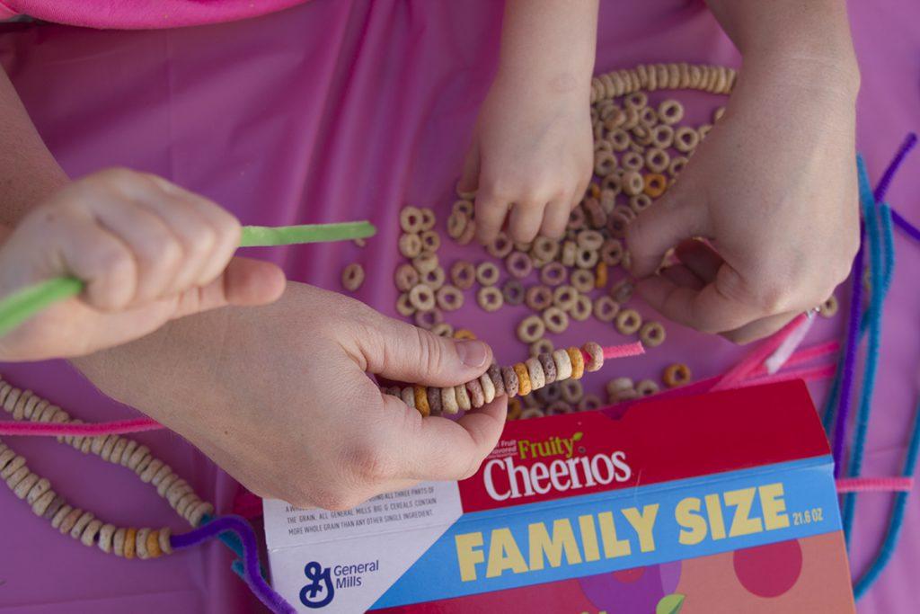 Cheerios Bracelets