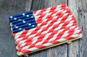 4th of July Magnetic Flag Craft