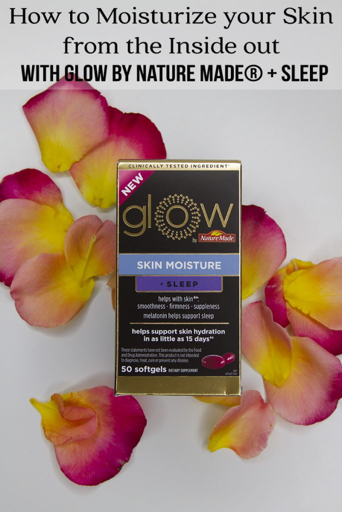 How to Moisturize your Skin from the Inside out with with Glow by Nature Made® + Sleep