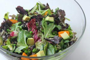 Sweet Potato Quinoa Spring Salad