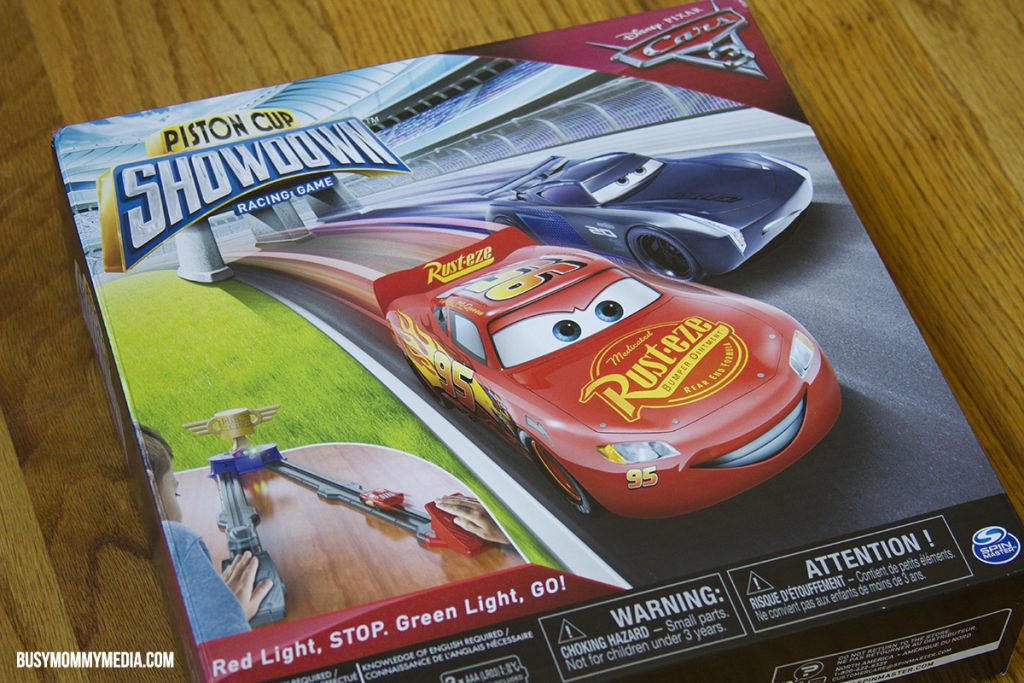 Celebrate Cars 3 With The Cars 3 Piston Cup Showdown Game