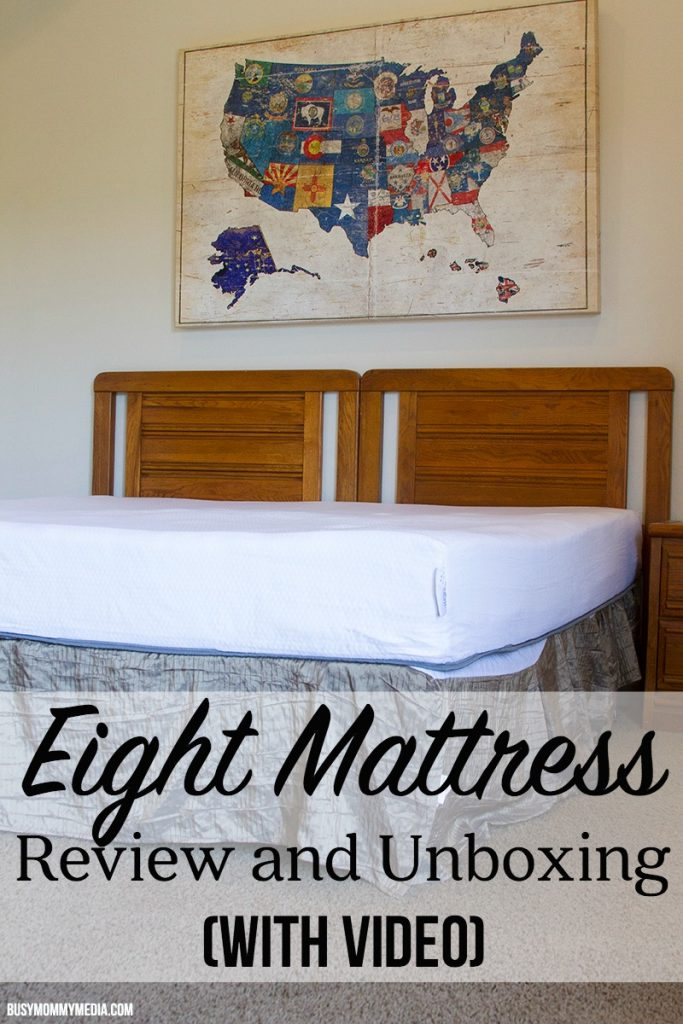 Eight Mattress Review and Unboxing (with VIDEO) | If you are ready to buy a new mattress, don't buy without checking out Eight Mattress and their amazing technology cover that turns your bed into a smart bed.