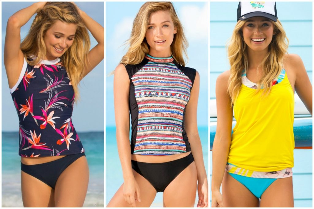 Modest Swimsuits for Moms from Hapari