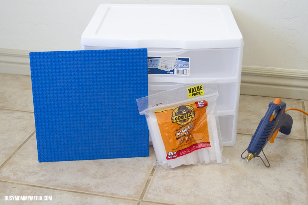 DIY Lego Table Supplies