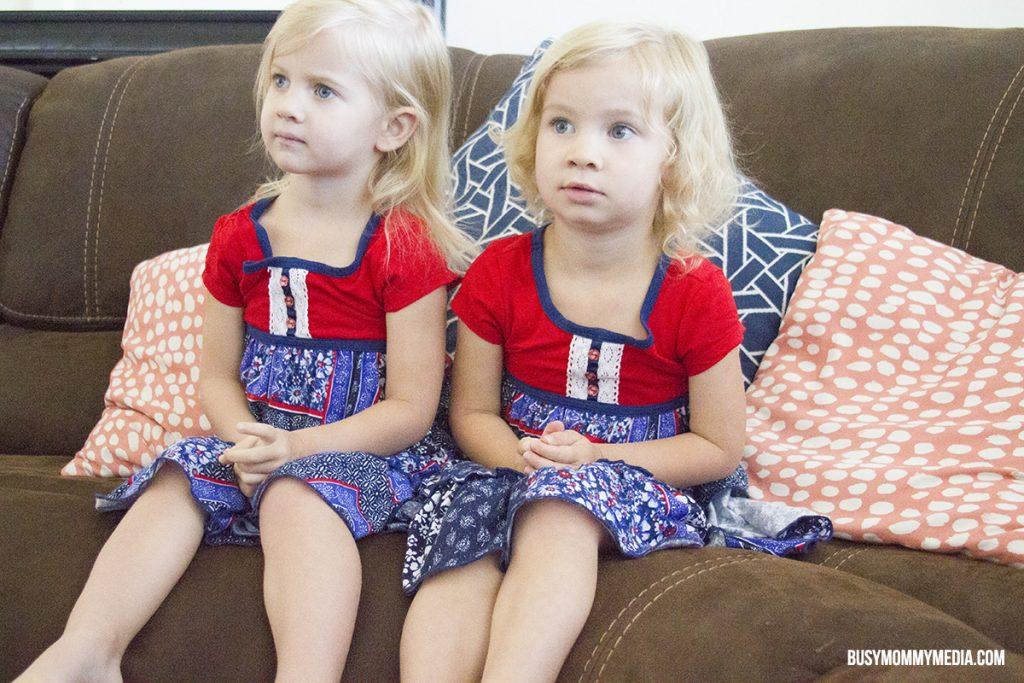 toddlers watching TV