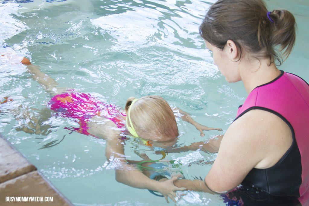 Swim Kids teaching toddlers