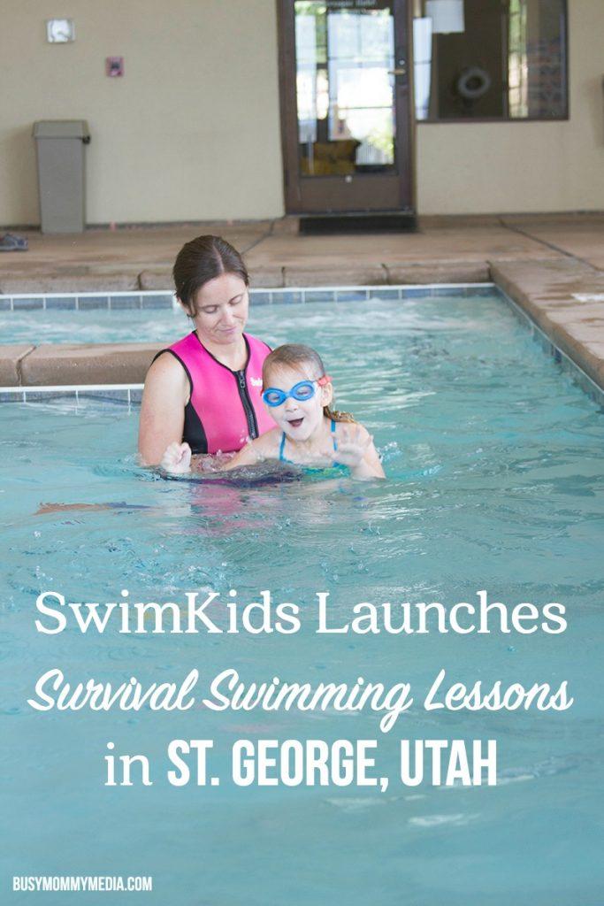 SwimKids Utah launches swimming classes for kids in St. George, UT