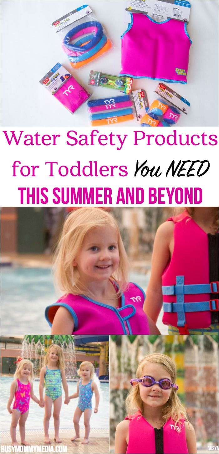 Water Safety Products for Toddlers you NEED this Summer | If you have a toddler who is learning to swim (or doesn't know how to swim) you NEED these tips. This post comes from a mom who almost lost her daughter to a near-drowning accident.
