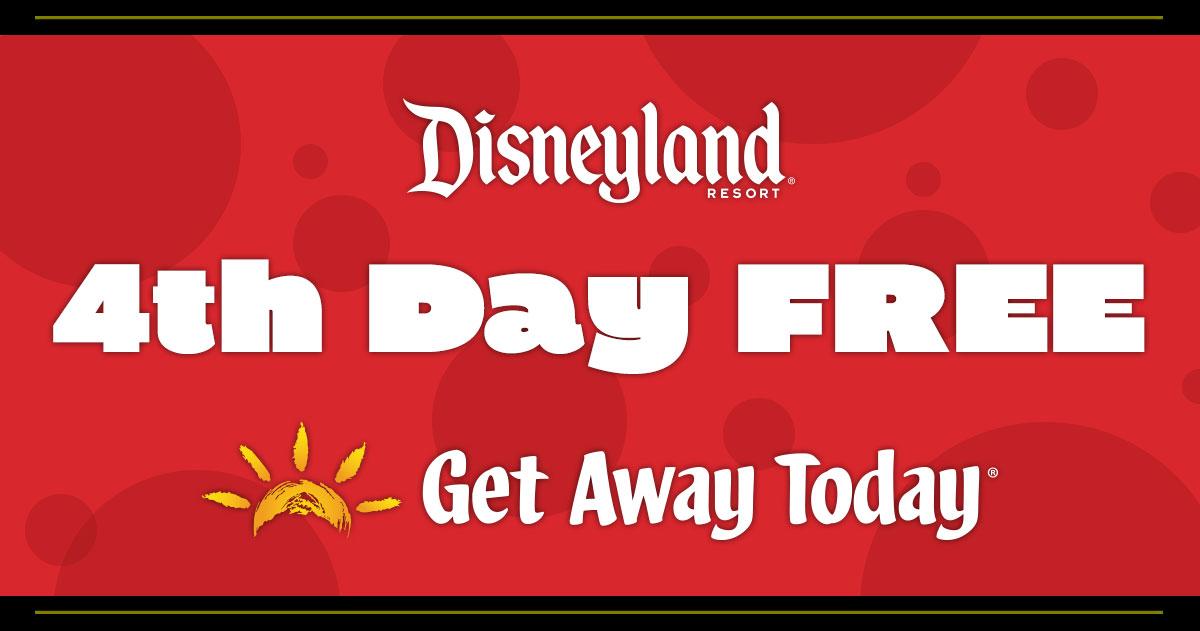 4th Day Free at Disneyland