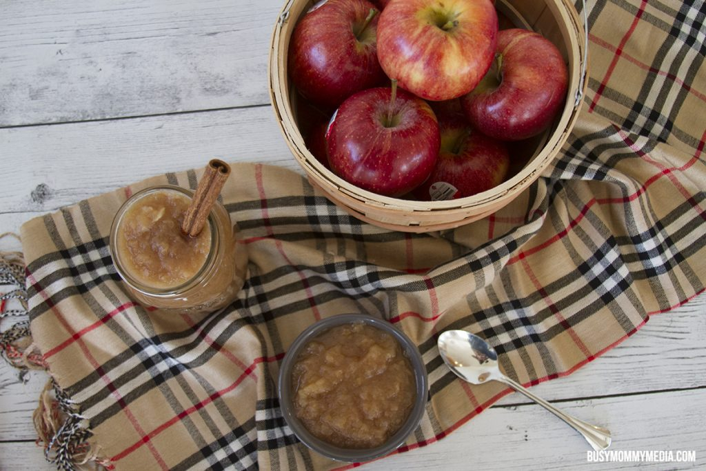 Homemade Instant Pot Applesauce