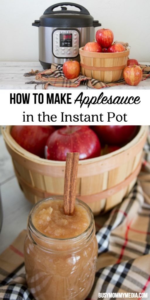 How to Make Applesauce in the Instant Pot | This is such an easy recipe and the perfect fall treat!