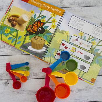 Cook by Colours Illustrated Cookbook for Kids