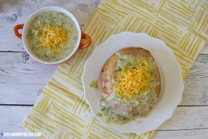 Creamy Broccoli Cheese Soup