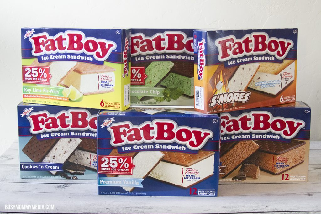 Fat Boy Ice Cream Sandwiches