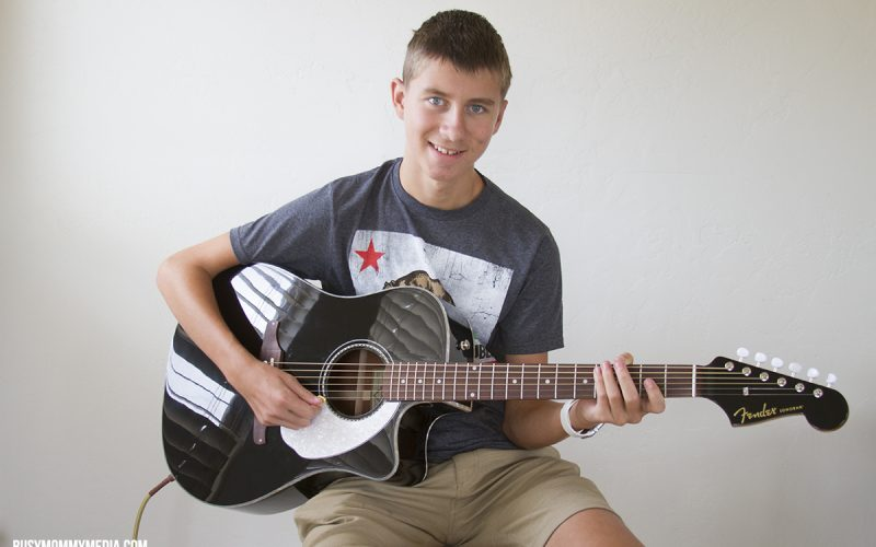 Teach your Teen to Play Guitar From Home with Fender