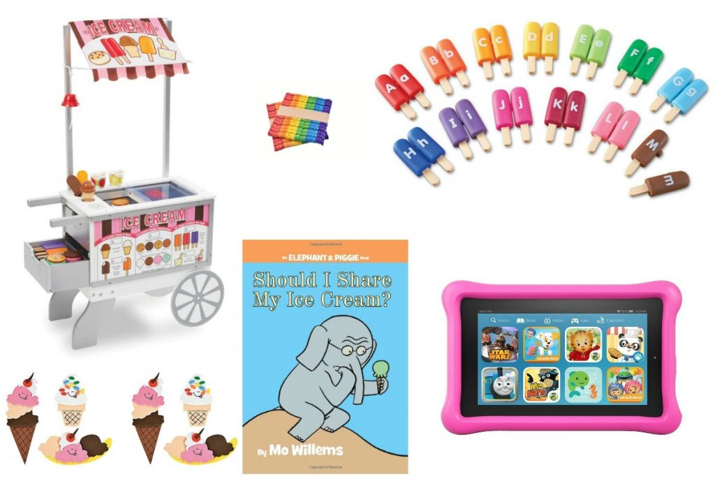 Ice cream educational activities