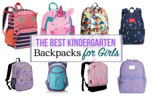 The Best Kindergarten Backpacks for Girls