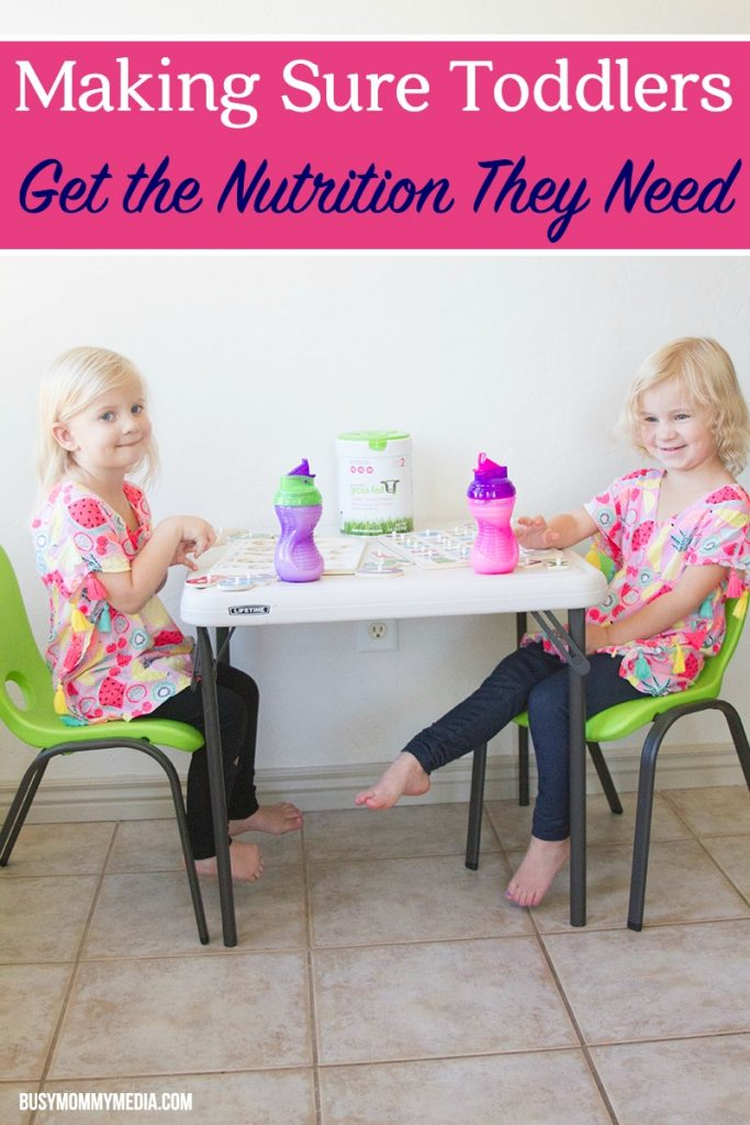 Making Sure Toddlers Get the Nutrition they Need