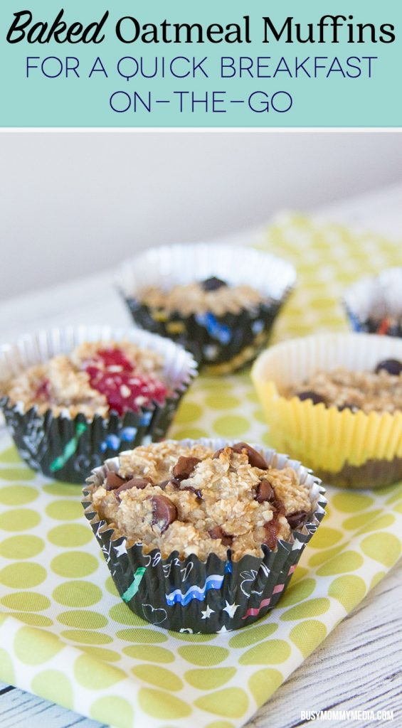 Baked Oatmeal Muffins - This easy make-ahead breakfast is the perfect solution for busy mornings.