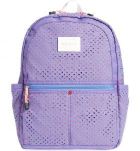 Heart backpack for girls