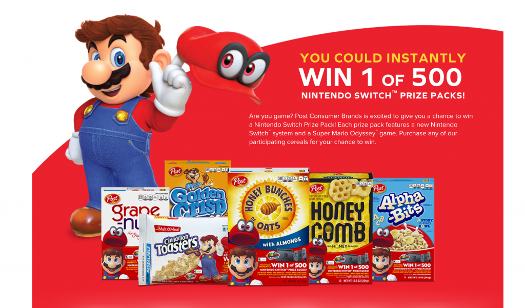 Nintendo Switch prize pack