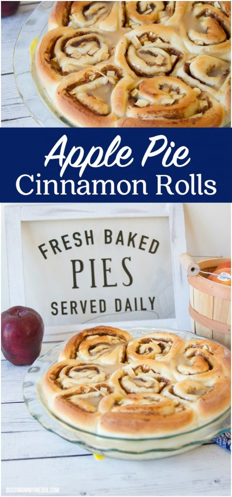 Apple Pie Cinnamon Roll | This is the ultimate fall treat!