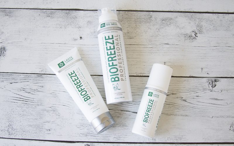 Alternative Pain Relief from Biofreeze