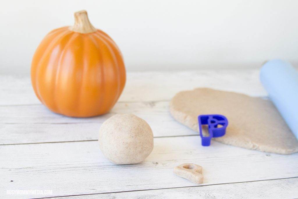 Pumpkin Spice Play Dough